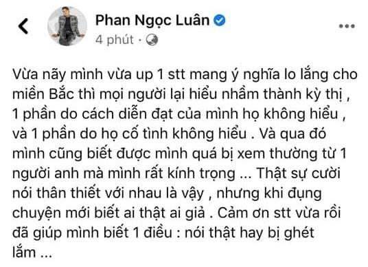 Phan Ngọc Luân xin lỗi vì kỳ thị dịch Covid-19 bùng lại ở nhiều tỉnh miền Bắc-5