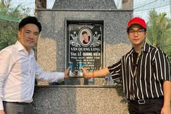 Hội bạn showbiz về Đồng Tháp viếng Vân Quang Long