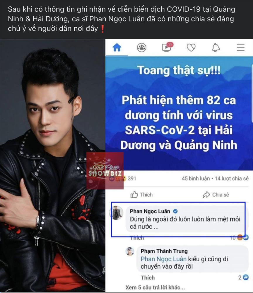 Phan Ngọc Luân xin lỗi vì kỳ thị dịch Covid-19 bùng lại ở nhiều tỉnh miền Bắc-1
