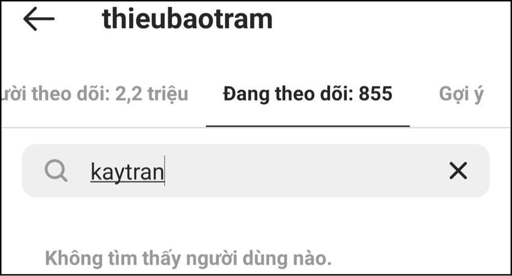 Kay Trần khóc dở mếu dở khi bị Thiều Bảo Trâm hủy theo dõi-2