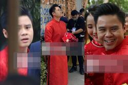 Biểu cảm 'trước sau bất nhất' của Phan Thành ở lễ xin dâu gây xôn xao