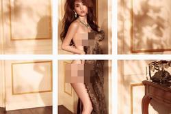 Tung hình nude, Ngọc Trinh ý nhị hơn với chiêu ảnh ghép