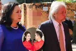 Ảnh hiếm về người cha quyền lực của Phan Thành trong đám cưới con trai