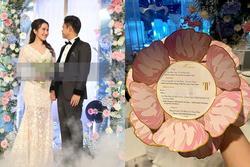 Thực đơn đám cưới tiền tỷ của Phan Thành - Primmy Trương có gì đặc biệt?