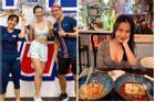MC Hoàng Oanh tự tin khoe eo thon dáng nuột sau thời gian nỗ lực giảm cân