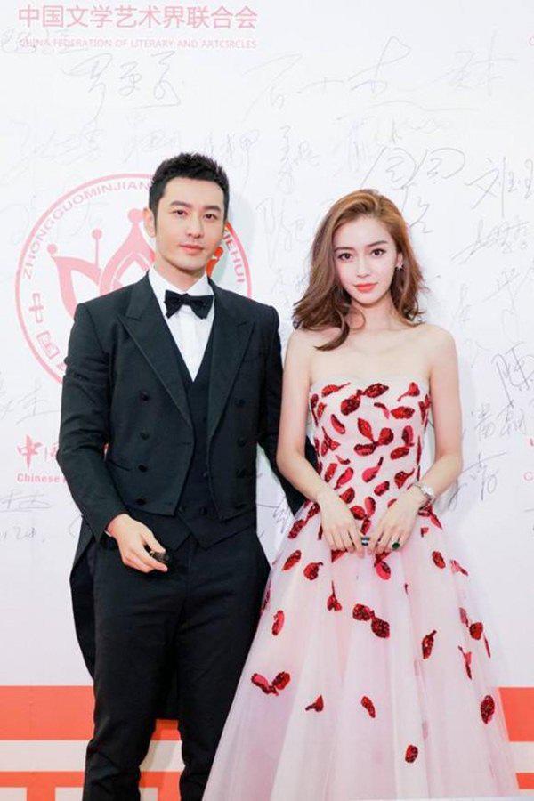 Rộ tin Angela Baby bỏ Huỳnh Hiểu Minh, kết hôn với Cổ Thiên Lạc-2