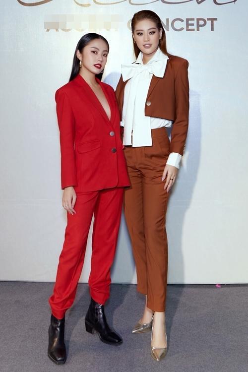Diva Hồng Nhung lăng-xê mốt lộ nội y - HHen Niê cá tính với set đồ caro trendy-10