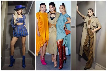 Diva Hồng Nhung lăng-xê mốt lộ nội y - H'Hen Niê cá tính với set đồ caro trendy