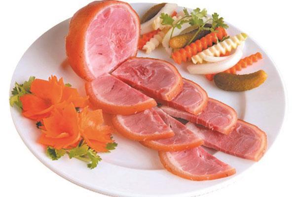 Chán gà luộc thì lưu lại ngay cách làm giò dăm bông thịt nguội ăn trong ngày Tết-6
