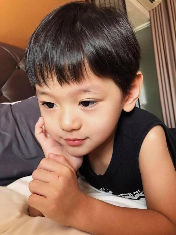 Loạt ảnh hành trình lớn khôn của con trai Trà My Idol khiến ai nhìn cũng tấm tắc: Đẹp trai cực phẩm từ bé-6