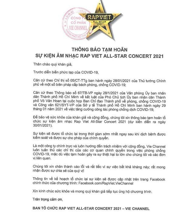 Fan 16 Typh gửi tặng 100 trái dừa cùng tin nhắn động viên ekip sau thông báo Rap Việt tạm hoãn-1
