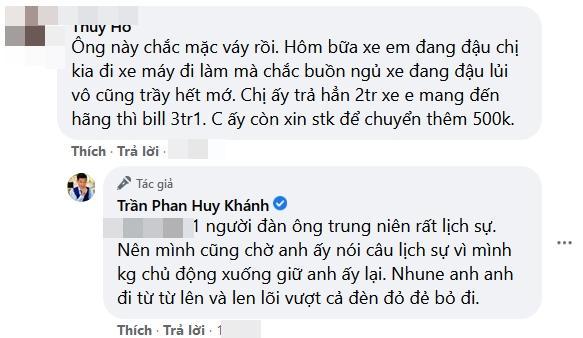Huy Khánh bị va chạm giao thông: Cả Tết này anh sẽ day dứt-4