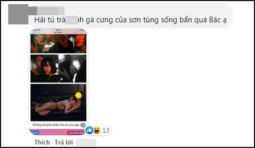 Antifan ập vào Facebook mẹ Sơn Tùng, để lại nhiều ảnh nóng Hải Tú-4