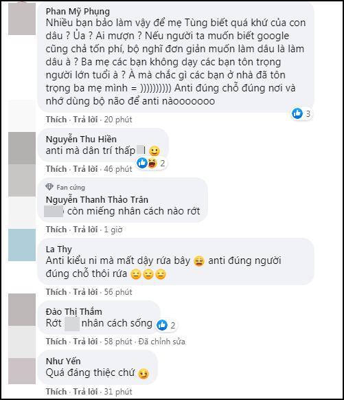 Antifan ập vào Facebook mẹ Sơn Tùng, để lại nhiều ảnh nóng Hải Tú-10