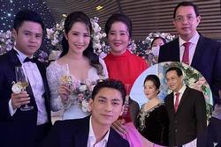 Nhan sắc mẹ vợ quyền lực của Phan Thành ở đám cưới con gái