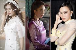 4 phụ kiện diện cùng áo dài Tết giúp nàng tỏa sáng như Ngọc Trinh - Thiều Bảo Trâm