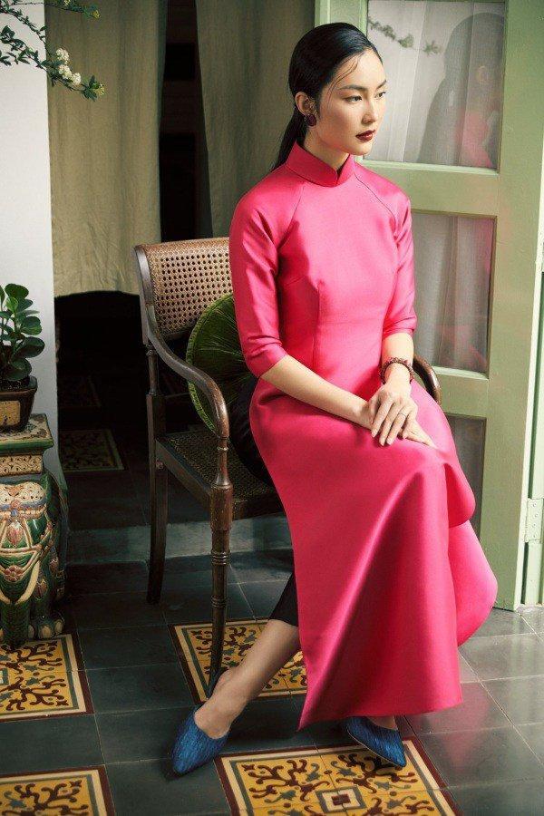 Muôn kiểu phụ kiện mix cùng áo dài Tết được sao Việt lăng xê nhiệt tình-9