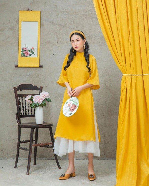 Muôn kiểu phụ kiện mix cùng áo dài Tết được sao Việt lăng xê nhiệt tình-10