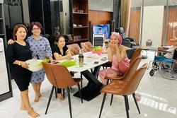 Gia đình Thành Đạt - Hải Băng quây quần trong nhà mới