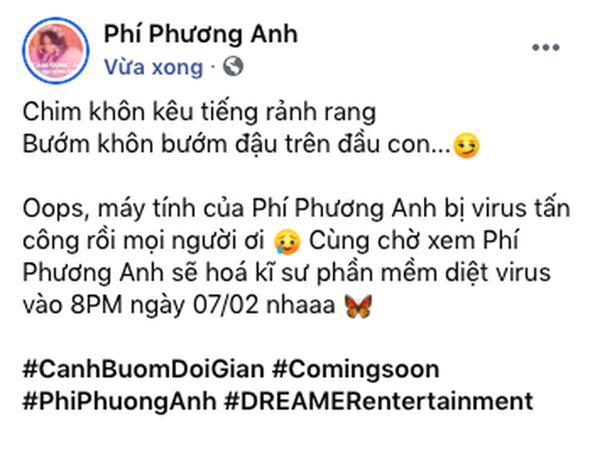 Phí Phương Anh nhanh như chớp đã chuẩn bị ra MV comeback, netizen nghi vấn cà khịa ViruSs?-2