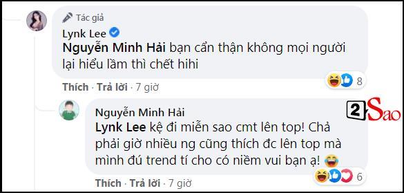 Bạn trai Hòa Minzy công khai gọi Lynk Lee là em yêu-3
