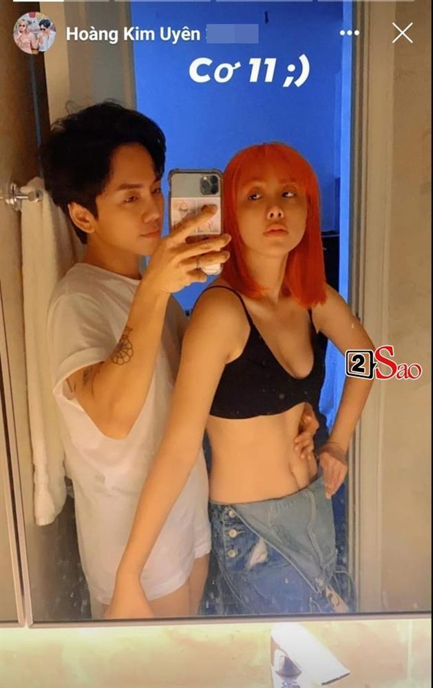 Đỏ mặt với loạt ảnh phòng the của Miko Lan Trinh và bạn trai chuyển giới-1