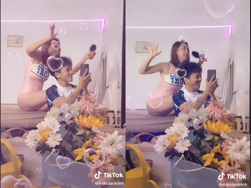 Đỏ mặt với loạt ảnh phòng the của Miko Lan Trinh và bạn trai chuyển giới-6