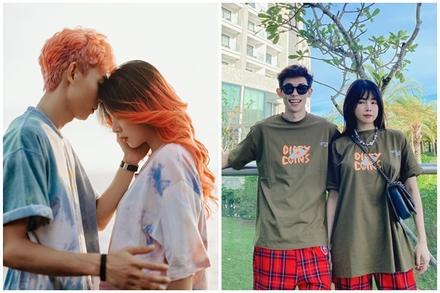 DJ Mie - Hồng Thanh lên đồ đôi từ quần áo đến kiểu tóc