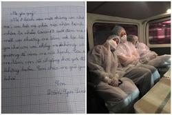 Xúc động thư con gái gửi mẹ đang chiến đấu ở tâm dịch Hải Dương