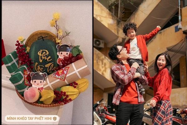 Tết các chị đẹp: Huyền Baby đi làm đẹp, Linh Rin ăn Tết ở Sài Gòn với Phillip Nguyễn?-7