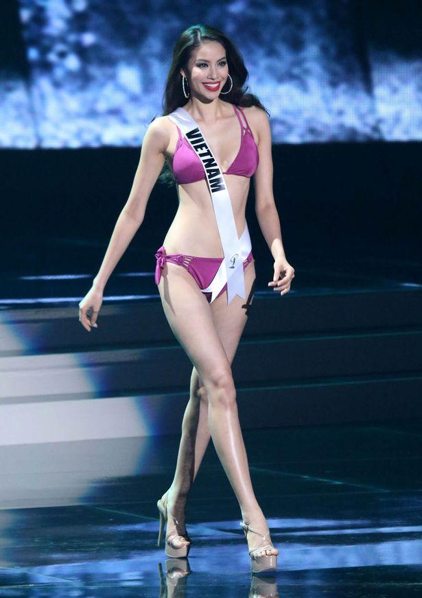 Phạm Hương, HHen Niê, Hoàng Thùy mặc bikini Miss Universe: Ai là đỉnh của chóp?-1