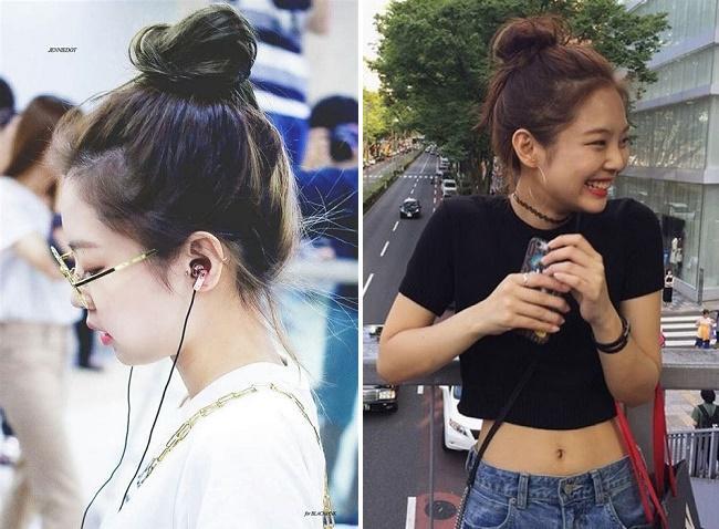 Học Jennie BLACKPINK 3 kiểu tóc xinh xỉu để đi chơi dịp đầu năm-3