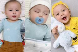 Bất ngờ ngoại hình quý tử 6 tháng tuổi nhà Đỗ Duy Mạnh