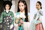 Mỹ nhân Hàn diện hanbook màu xanh: IU ngây thơ, Song Hye Kyo kiêu sa