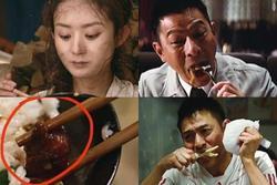 Triệu Lệ Dĩnh, Lưu Đức Hoa ám ảnh vì phải ăn đồ giả, ôi thiu
