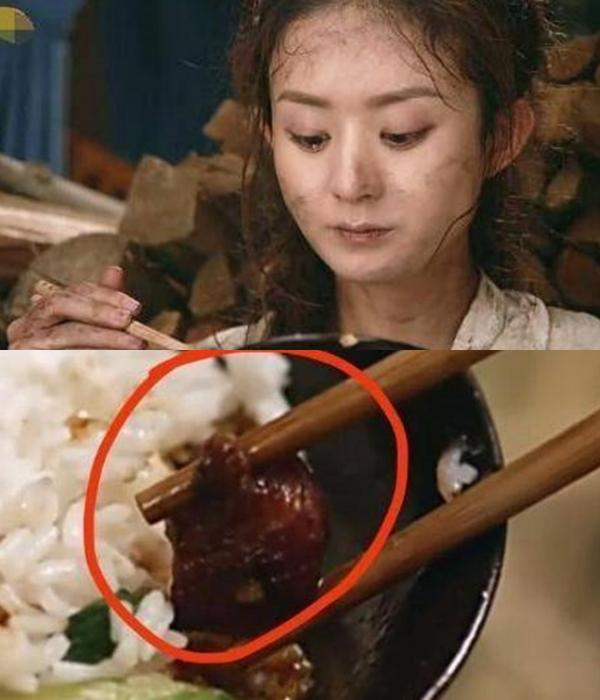 Triệu Lệ Dĩnh, Lưu Đức Hoa ám ảnh vì phải ăn đồ giả, ôi thiu-5