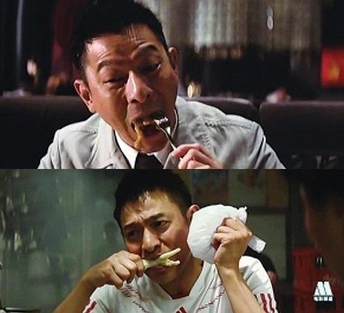 Triệu Lệ Dĩnh, Lưu Đức Hoa ám ảnh vì phải ăn đồ giả, ôi thiu-2