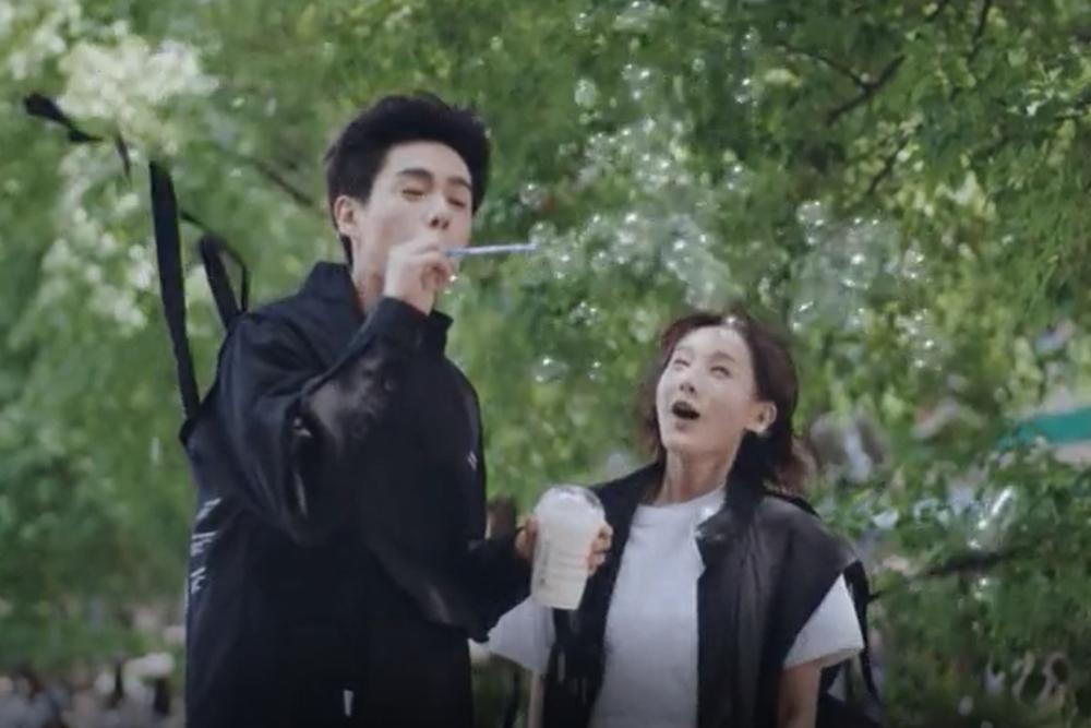 Bong bóng xà phòng trở thành xu hướng mới trong phim Hoa ngữ?-2