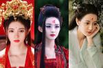 Triệu Lệ Dĩnh, Địch Lệ Nhiệt Ba và dàn mỹ nhân Hoa ngữ đọ sắc với hoa điền trên trán