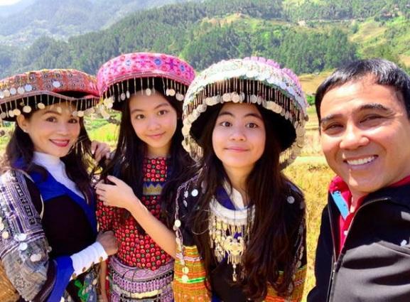 Hạt Dẻ - gái út 13 tuổi nhà Quyền Linh hé lộ chiều cao đáng ghen tị-1