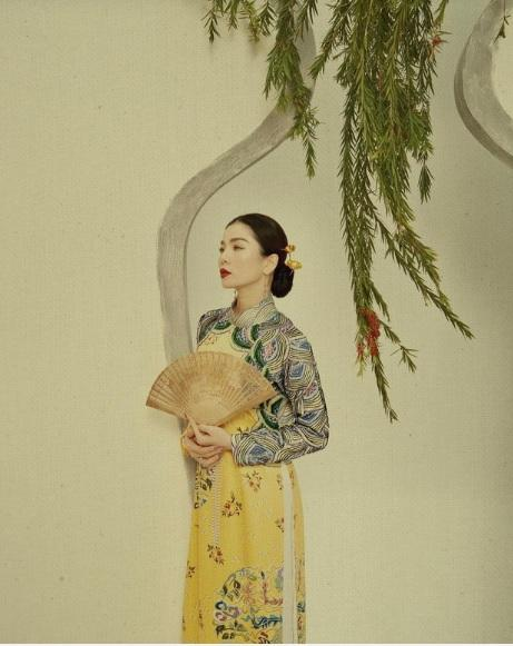 1001 sắc thái áo dài mỹ nhân Việt cận Tết, từ cách tân đến truyền thống đều có đủ-2