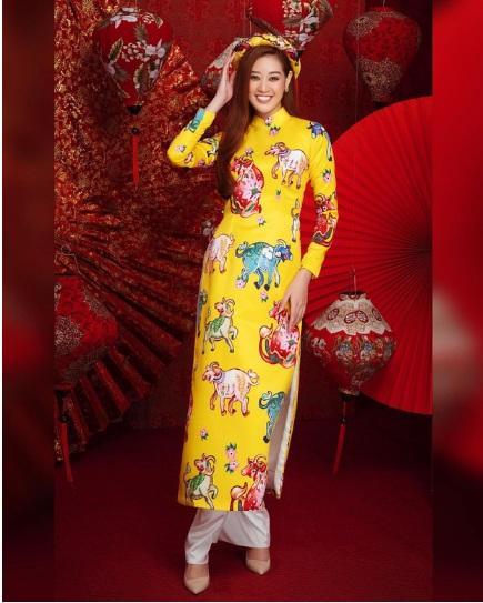 1001 sắc thái áo dài mỹ nhân Việt cận Tết, từ cách tân đến truyền thống đều có đủ-3