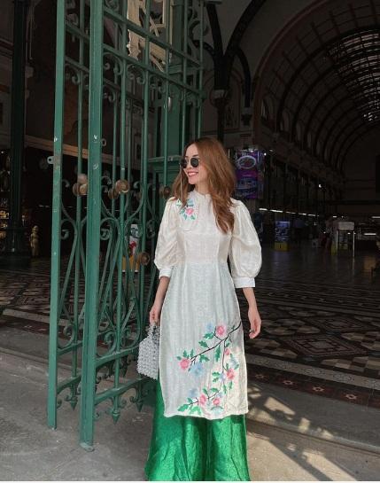 1001 sắc thái áo dài mỹ nhân Việt cận Tết, từ cách tân đến truyền thống đều có đủ-5