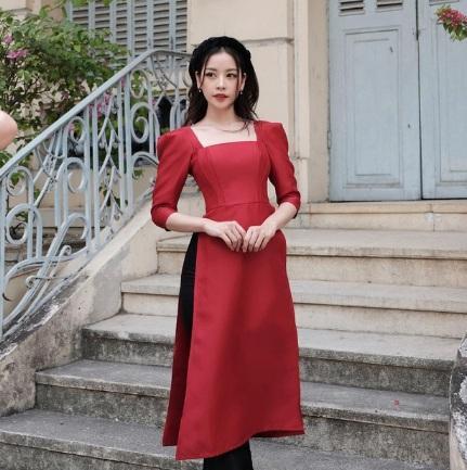 1001 sắc thái áo dài mỹ nhân Việt cận Tết, từ cách tân đến truyền thống đều có đủ-6