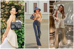 Hoa hậu Đỗ Thị Hà gia nhập mỹ nhân hàng hiệu - Hà Hồ khoe street style đẹp xỉu