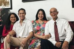 Mối quan hệ giữa vợ cũ Lâm Vinh Hải và gia đình tình mới