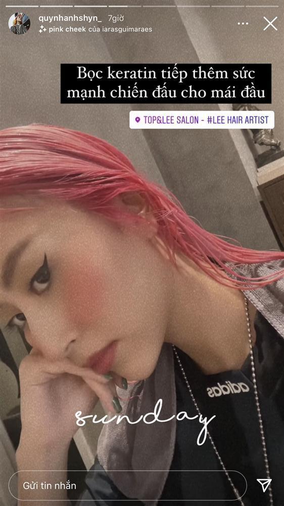 Quỳnh Anh Shyn đảo ngói đón Tết, netizen kêu trời vì tóc xơ như chổi xể-6