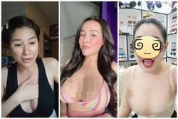 Ngân 98 - Trang Trần và loạt chị em ăn mặc phản cảm khi livestream