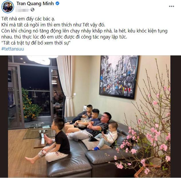 KOLs chuẩn bị Tết: Hoàng Linh dọn nhà vệ sinh, Quang Hải chỉnh ảnh sống ảo-2
