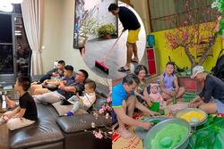 KOLs chuẩn bị Tết: Hoàng Linh dọn nhà vệ sinh, Quang Hải chỉnh ảnh sống ảo